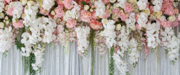 Trends for 2020 in the world of wedding flowers