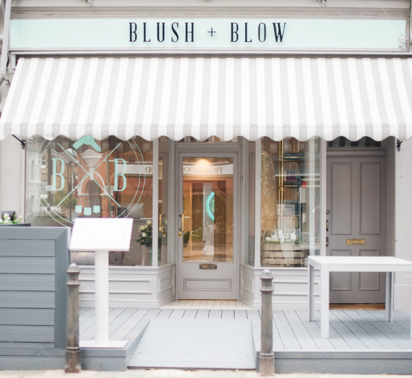 blush and blow london beauty salon